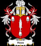 Brasão sobrenome Hoos