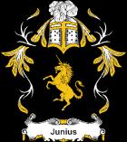 Brasão sobrenome Junius